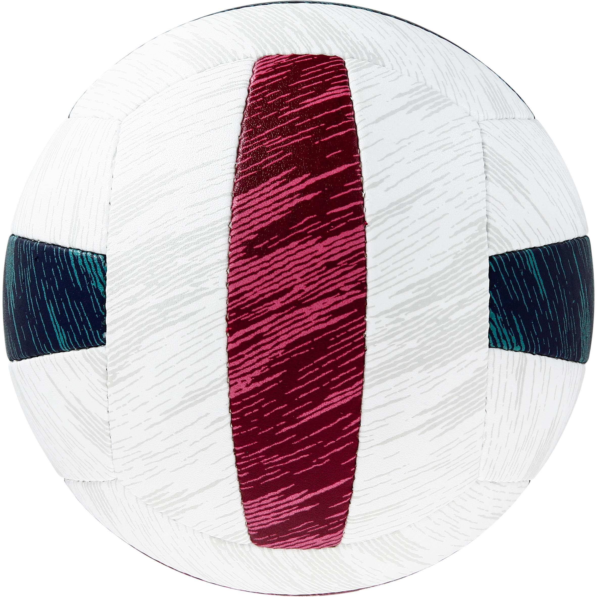 Ballon de beach-volley Sandiya Deluxe vert rouge