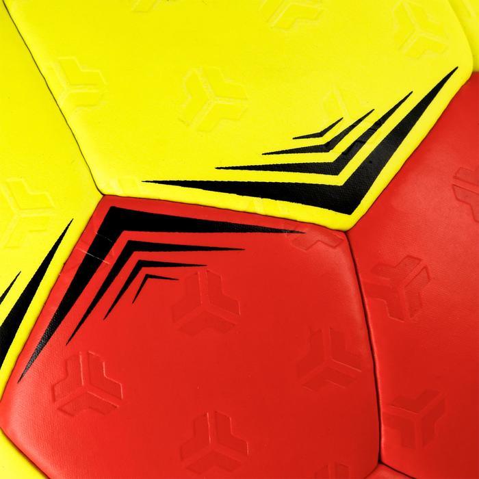 Ballon de handball hybride H500 Taille 2 rouge et - 1308778