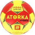 HANDBALL BALLS Handball - H500 S2 - Red/Yellow ATORKA - Handball