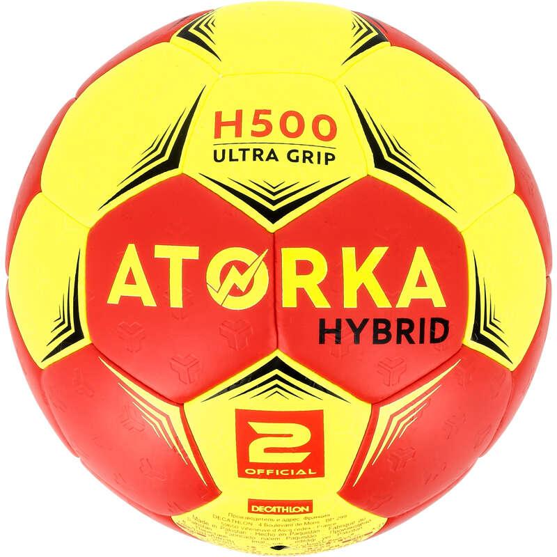 PALLAMANO Sport di squadra - Palla pallamano H500 T2 rossa ATORKA - Sport di squadra
