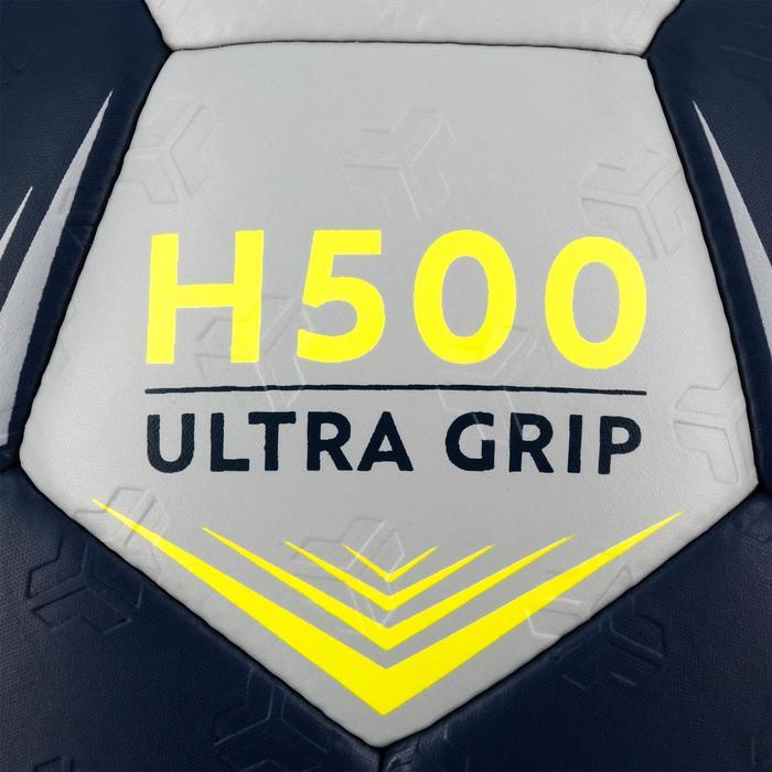 Ballon de handball hybride H500 Taille 2 rouge et - 1308795