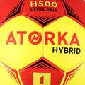HANDBOLL Lagsport - H500 Stl. 1 röd/gul ATORKA - Lagsport