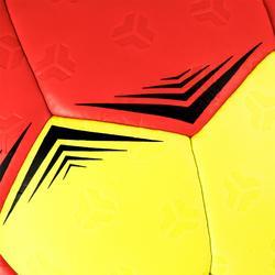 Ballon de handball enfant hybride H500 Taille 1 rouge et jaune