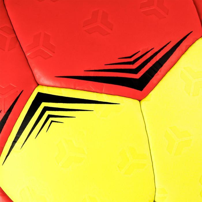 Ballon de handball hybride H500 Taille 2 rouge et - 1308802