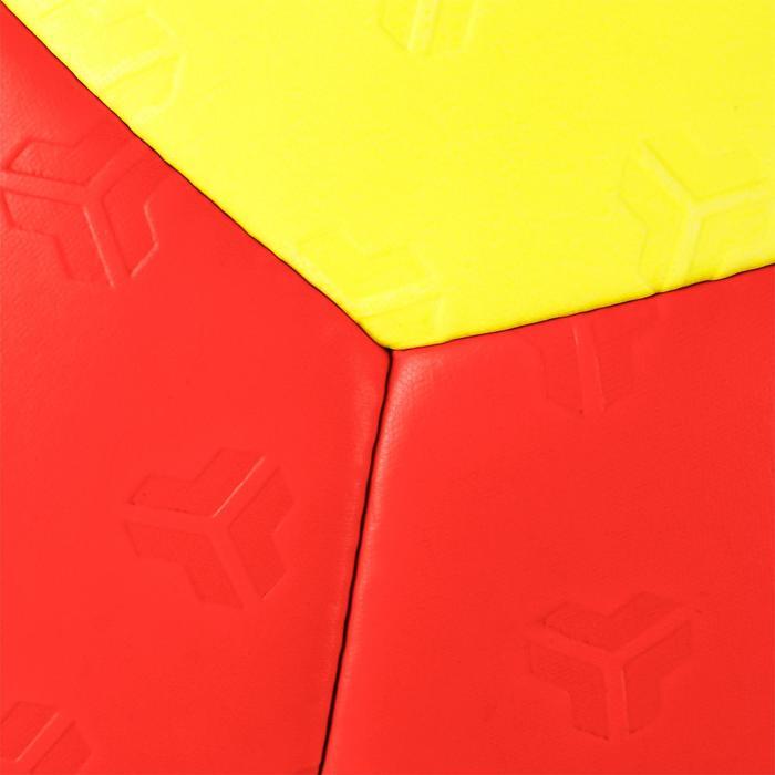 Ballon de handball hybride H500 Taille 2 rouge et - 1308803