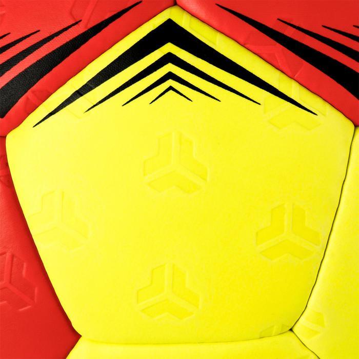 Handbal voor kinderen hybride H500 maat 1 rood/geel