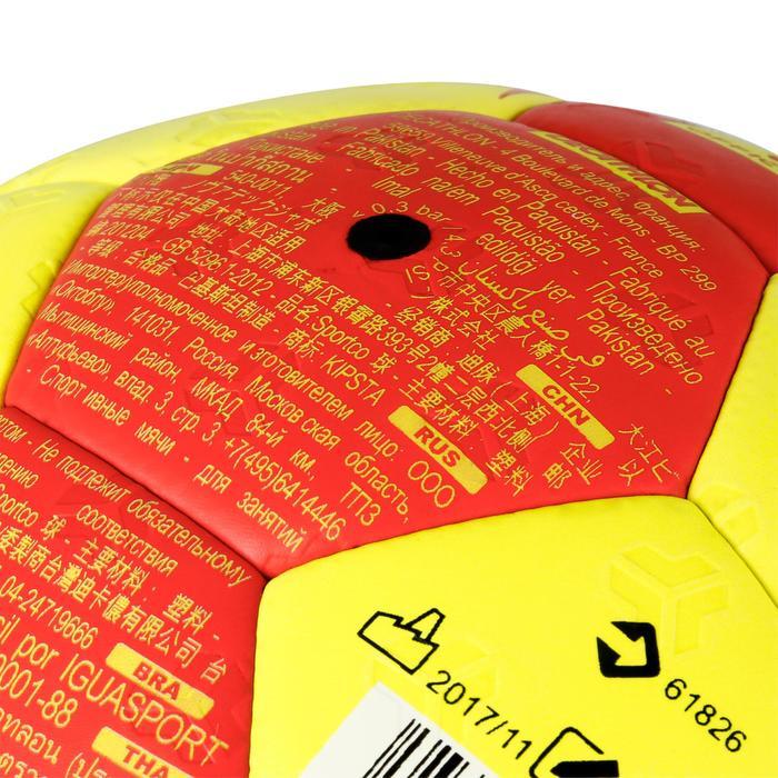 Ballon de handball hybride H500 Taille 2 rouge et - 1308812
