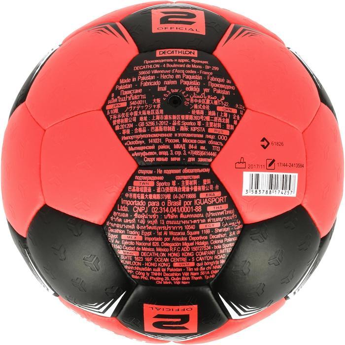 Ballon de handball hybride H500 Taille 2 rouge et - 1308813