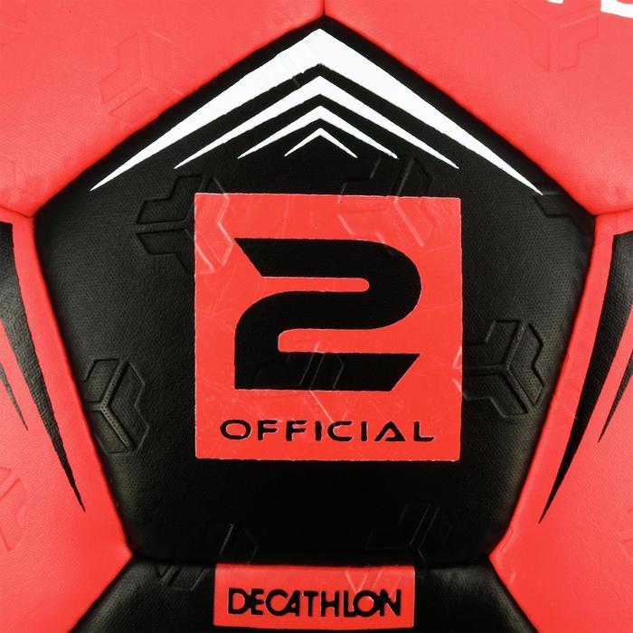 Ballon de handball hybride H500 Taille 2 rouge et - 1308814