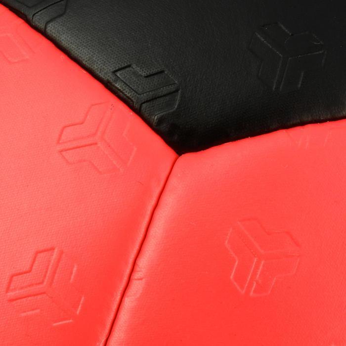 Ballon de handball hybride H500 Taille 2 rouge et - 1308815
