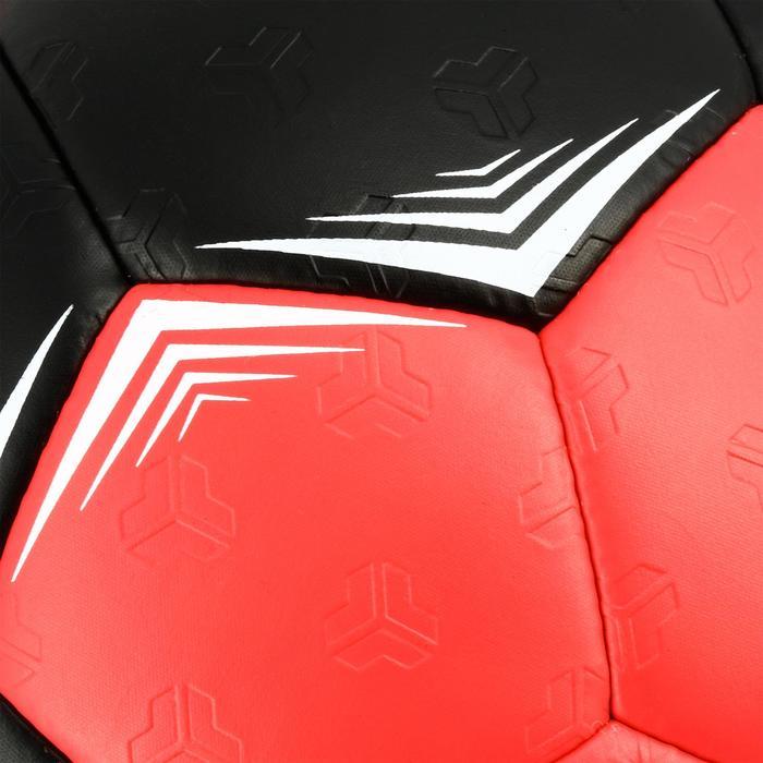 Ballon de handball hybride H500 Taille 2 rouge et - 1308821