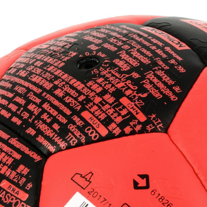 Ballon de handball hybride H500 Taille 2 rouge et - 1308823
