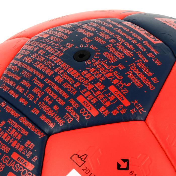 Ballon de handball hybride H500 Taille 2 rouge et - 1308831