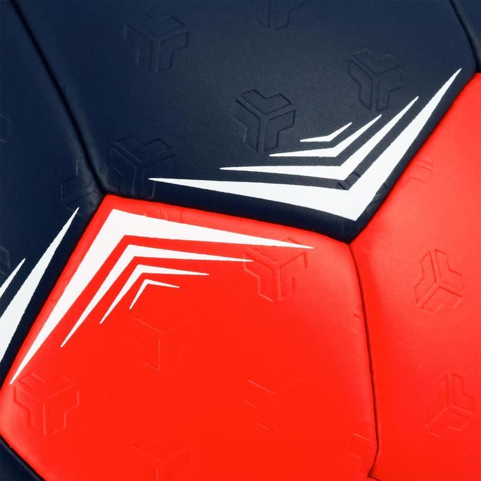 Ballon de handball hybride H500 Taille 2 rouge et - 1308834