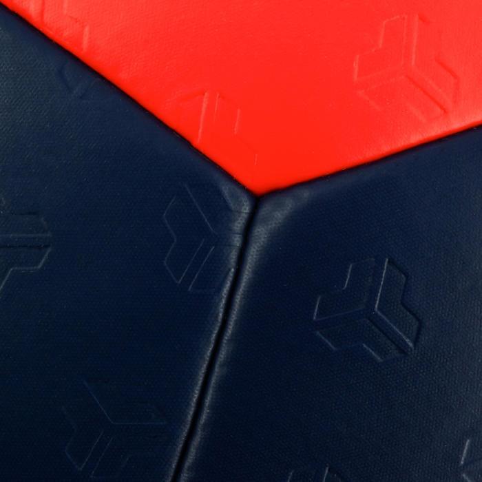 Ballon de handball hybride H500 Taille 2 rouge et - 1308836