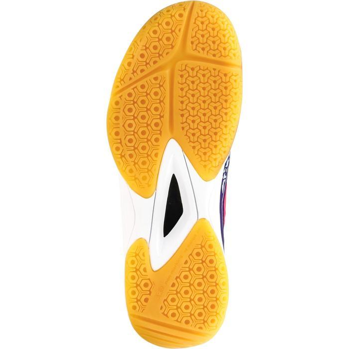 Chaussures de Handball H100 fille avec lacets violettes et roses - 1308875