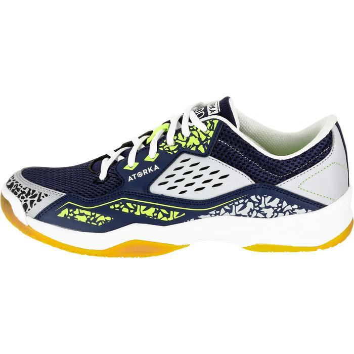 Chaussures de Handball H100 Homme grises et jaunes - 1308913