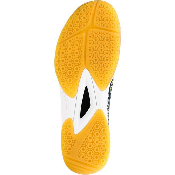 Chaussures de Handball H100 Homme grises et jaunes - 1308914