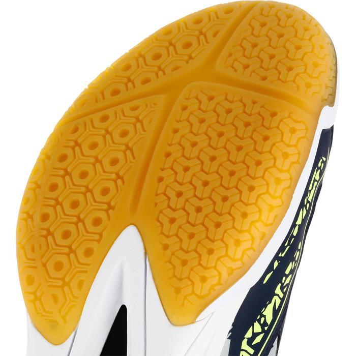 Chaussures de handball adulte H100 gris / jaune