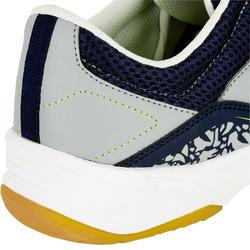 H100 Adult Handball Shoes - Grey/Yellow