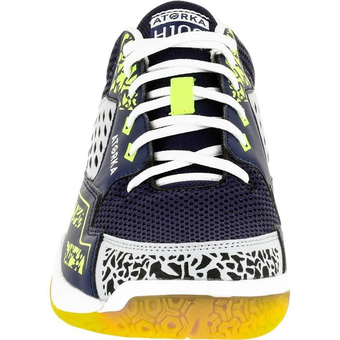 Chaussures de Handball H100 Homme grises et jaunes - 1308918