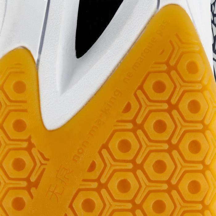 Chaussures de Handball H100 Homme grises et jaunes - 1308919