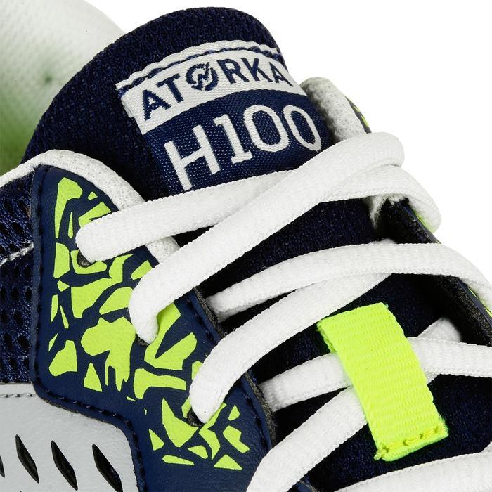 Chaussures de Handball H100 Homme grises et jaunes