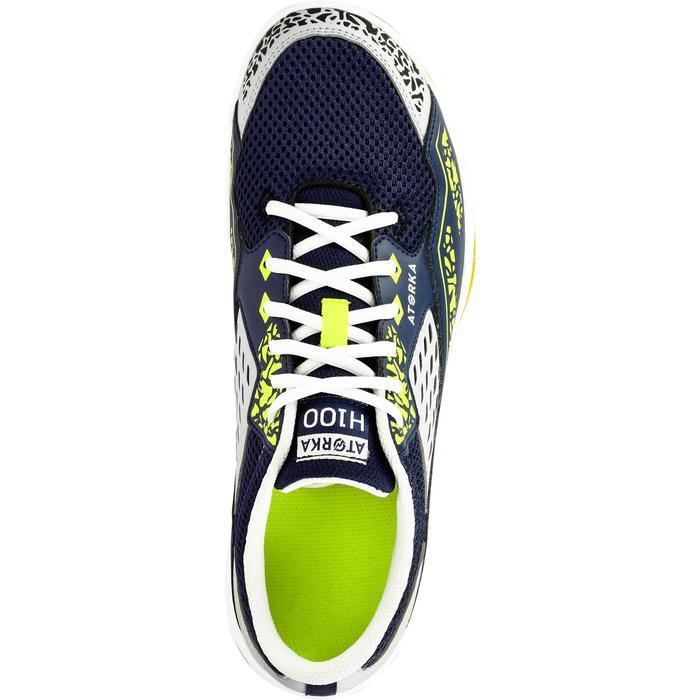 Chaussures de Handball H100 Homme grises et jaunes - 1308923