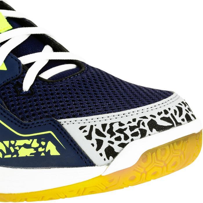 Chaussures de Handball H100 Homme grises et jaunes - 1308924