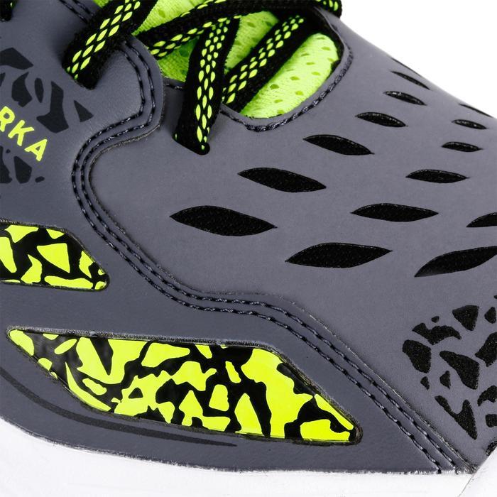 Chaussures de Handball H500 adulte noires et rouges - 1308958