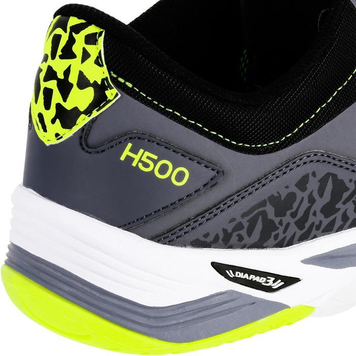 Chaussures de Handball H500 adulte noires et rouges - 1308960