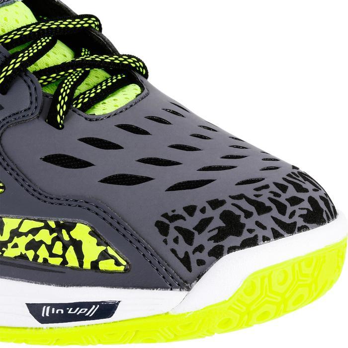 Chaussures de Handball H500 adulte noires et rouges - 1308962