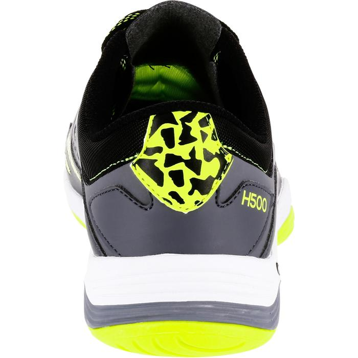 Chaussures de Handball H500 adulte grises et jaunes
