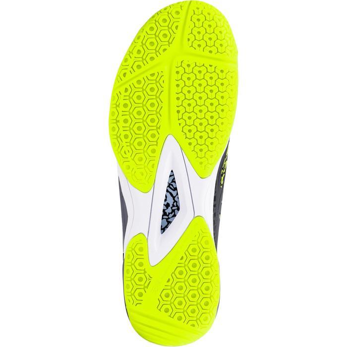 Chaussures de Handball H500 adulte noires et rouges - 1308965