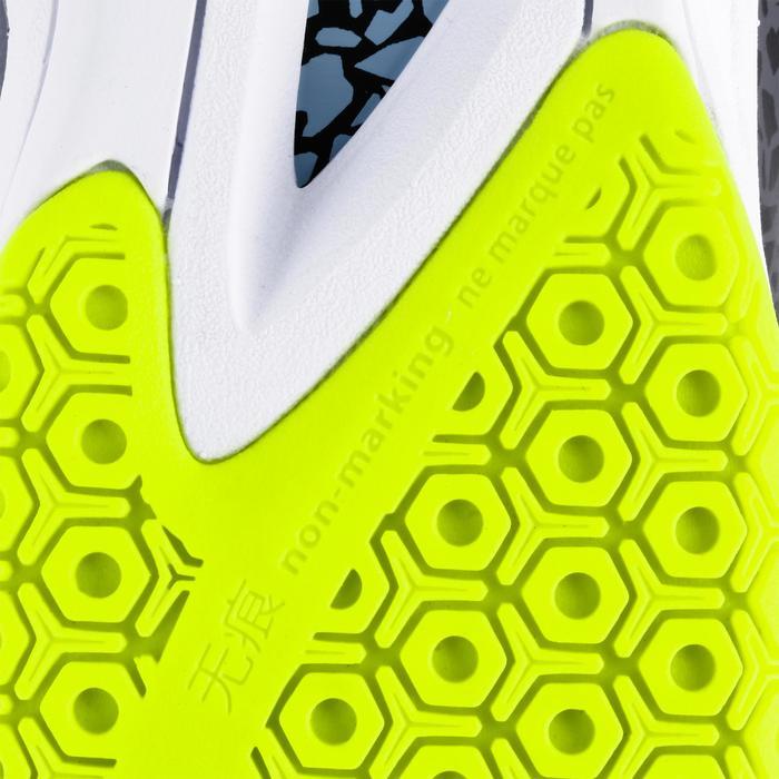 Handballschuhe H500 Herren grau/gelb