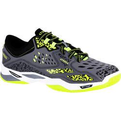 """Handbalschoenen voor volwassenen H500 grijs/geel"""""""