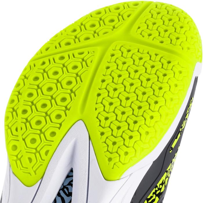 Handbalschoenen H500 VW grijs/geel