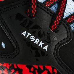 Handbalschoenen voor volwassenen H500 zwart/rood