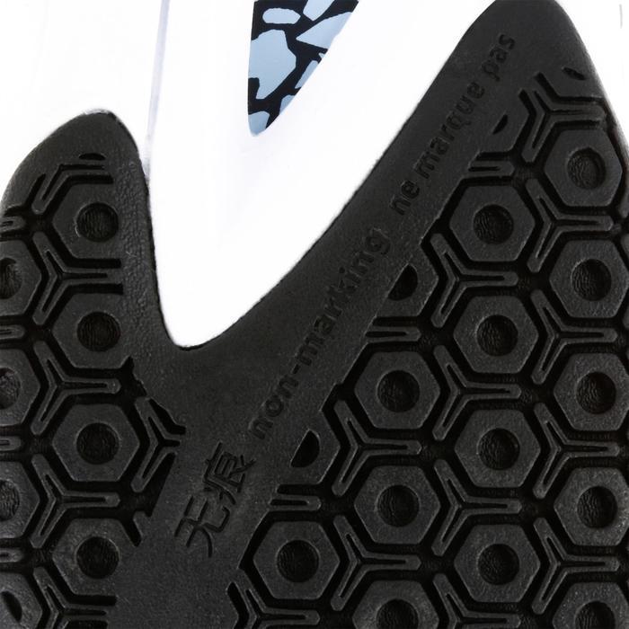 Chaussures de Handball H500 adulte noires et rouges - 1308996
