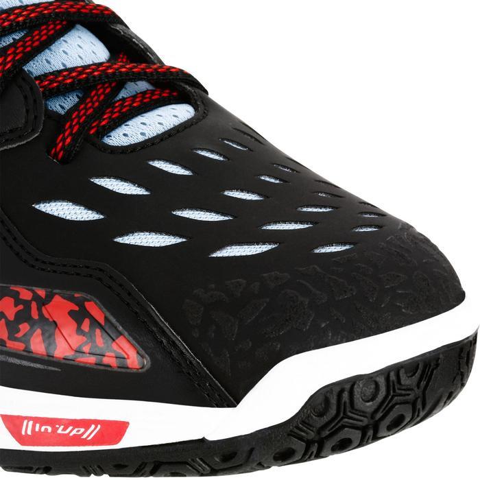 Chaussures de Handball H500 adulte noires et rouges - 1308997