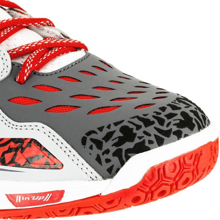 Chaussures de handball Mid femme grises et roses - 1309004