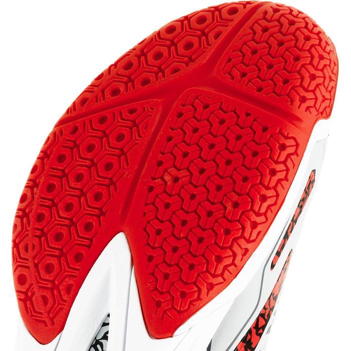 Chaussures de handball Mid femme grises et roses - 1309013
