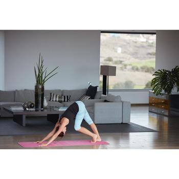 3/4-Leggings Yoga Dynamic Damen schwarz