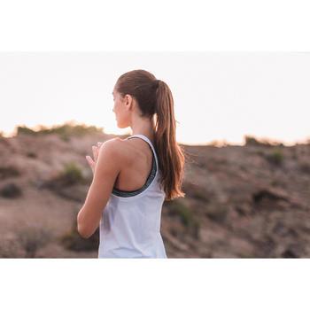 Tank-Top Yoga nahtlos Damen beige