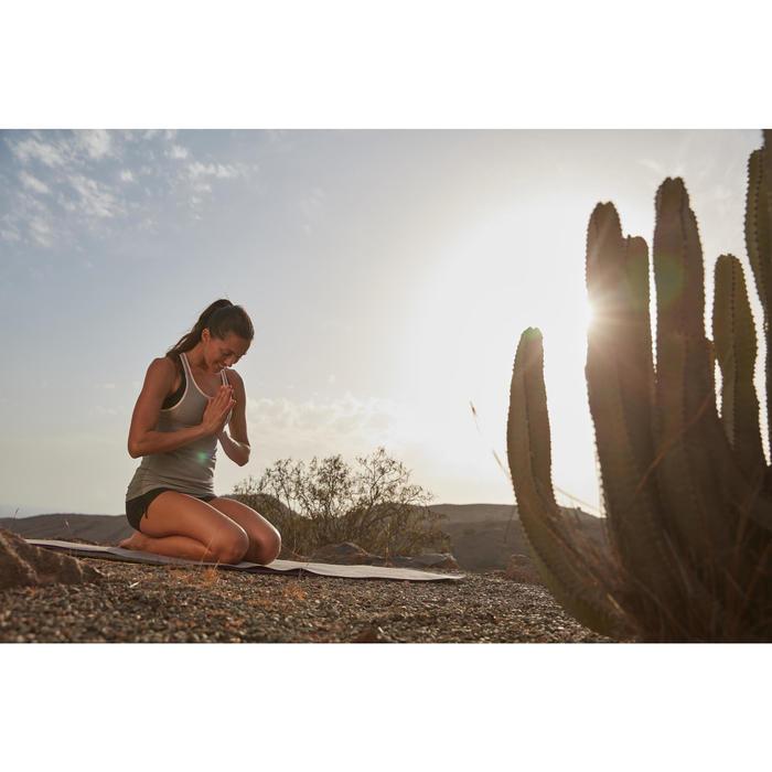 Débardeur sans coutures Yoga femme gris/bleu - 1309034