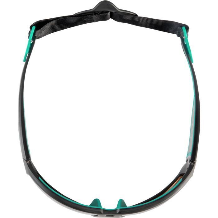 LUNETTES DE KITESURF 900 - POLARISANTES - CAT 4- noir/turquoise