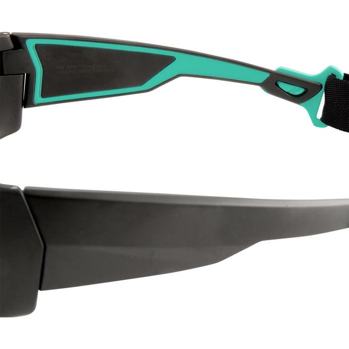 LUNETTES DE KITESURF 900 - POLARISANTES - CAT 4-  noir/turquoise - 1309052