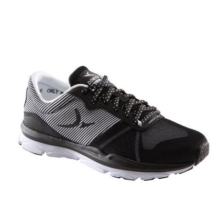 save off 95031 a996d Decathlon By Blanc 500 Fitness Noir Et Domyos Chaussures Femme qBT6wU0B