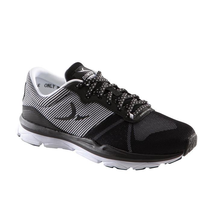 Chaussures fitness cardio-training 500 femme bleu et - 1309076