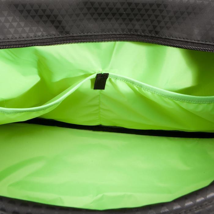 Sac fitness 30 Litres imprimé vert noir et Domyos - 1309083
